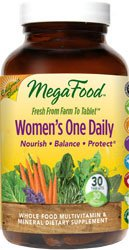 MegaFood Women's One Daily - Ca - 30 Tablets