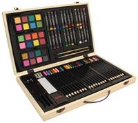 Wooden Art & Craft Supplies Set