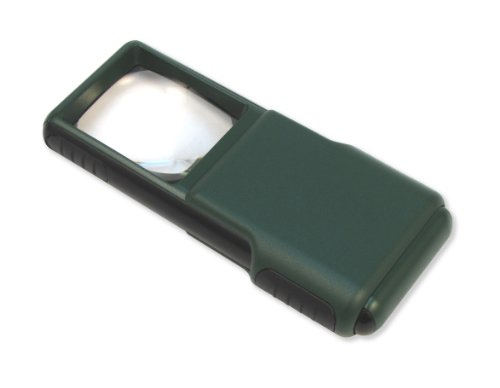 Carson Minibrite 5X Led Lighted Slide-Out Aspheric Magnifier With Protective Sleeve (Od-95)
