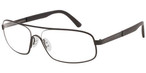 Porsche Design 8225 Mens Ophthalmic Designer Full-rim Eyeglasses/Glasses (60-15-140, Black)