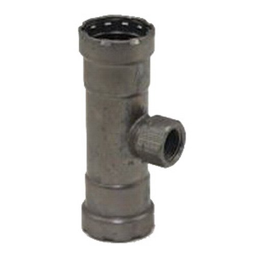Viega MegaPress 4817.2 Carbon Steel Reducing Tee, 2