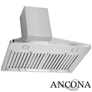 Ancona Rapido Chef 30 Range Hood 900 CFM Commercial-grade Stainless Steel