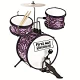 First Act 3-Piece Drum Set, Blue Flame - FD3711