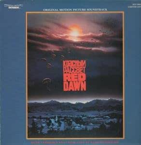 ORIGINAL MOTION PICTURE SOUNDTRACK LP US INTRADA 1985