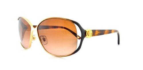 VersaceVersace VE2125B Sunglasses-1309/13 Gold/Brown (Brown Gradient Lens)-60mm