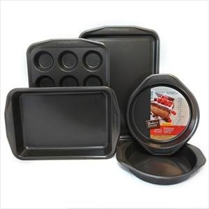 Bakers Secret Signature 5-Pc Bakeware Set