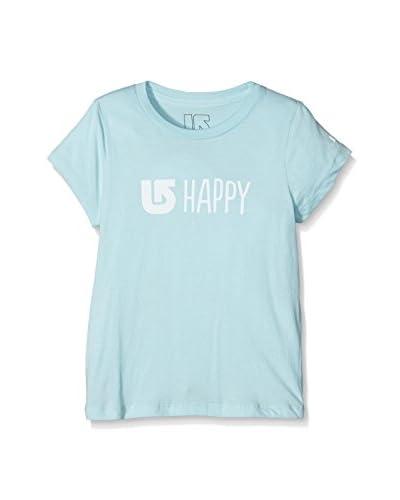 Burton Camiseta Manga Corta Happy Cancun Azul Claro