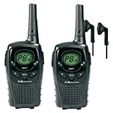 12Km Midland G6 XT Long Range Two Way PMR 446 Licence Free Radio + 2 x Comtech CM-50PT Headsets