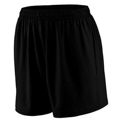 Augusta Sportswear Ladies Inferno Elastic Waistband Short, Black, Large the inferno