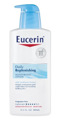 Eucerin Moisturizing Lotion, Daily Replenishing, 13.5-Ounce Bottles (Pack of 3) Discount !!