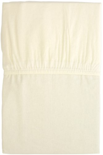 Merry night fitted sheet solid color single size 100 x 205 x 25 cm beige 282101-96