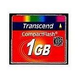 Transcend TS1GCF133 - 133X (1GB) CompactFlash Card