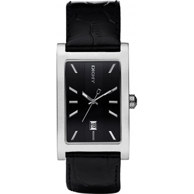 DKNY NY1474 Mens Dress Black Watch