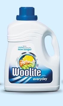 WOOLITE COMPLETE Everyday Laundry Detergent 67 LOADS! Large 133 oz.