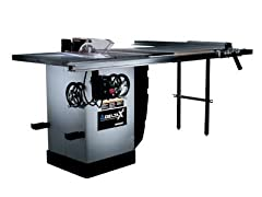 DELTA 36-R31X-U50 X5 10-Inch Right Tilt 3 Horsepower Cabinet Saw with 50-Inch Unifence, 2 Cast Iron Extension Wings, Table Board, and Legs, 230-Volt 1 Phase