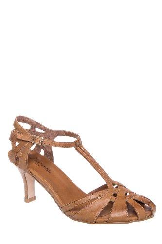 Mariana Samantha Mid Heel Ankle Strap Sandal