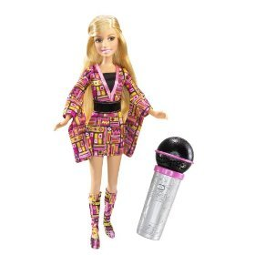 "High School Musical 3 Senior Year"" Sing Together 11 Inch Doll - Sharpay With Microphone And Display Stand"