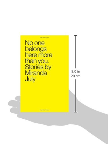 Image of No One Belongs Here More Than You: Stories