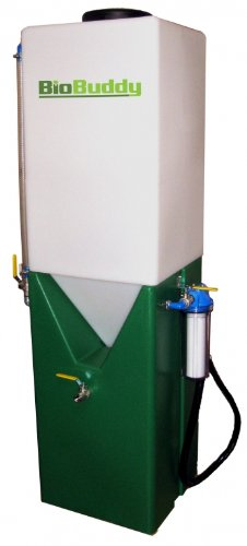 Biobuddy 53 gallon biodiesel processor