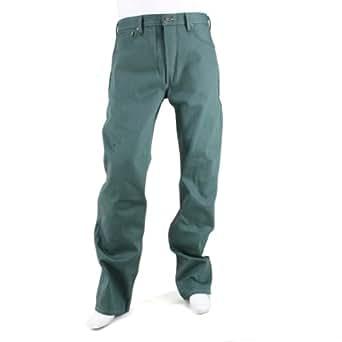 Levis 501 Original Fit Shrink To Fit Jean Dark Green 32X30