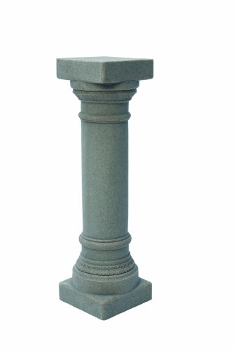 Emsco Group 2301 Poly Greek Column Granite 32-Inch