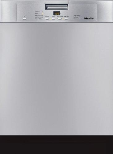 Miele G4420 SCU D ED230 2,1 CLST Geschirrspüler Unterbau / A++ / 266 kWh/Jahr / 2800 Liter/Jahr / 14 MGD / Perfect GlassCare / ComfortClose: das beste Türkonzept unserer Zeit / edelstahl/CLST
