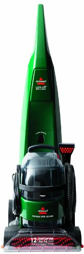 BISSELL DeepClean Lift-Off Full Sized Carpet Cleaner, 66E1 (Bissell Lift Steam Cleaner compare prices)