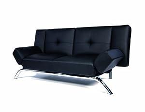 Dorel Home Products 3161 096 Emma Revolution Convertible Sleeper Futon, Black
