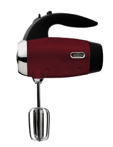 Sunbeam 2560 Heritage Series 6-Speed 250-Watt Hand Mixer, Red front-71410