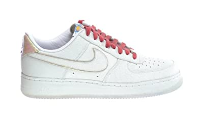 Nike Air Force 1 SP Low I/O Yotd NRG Men's Sneakers White/Red 553281-110 (13 D(M) US)