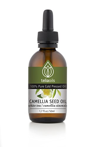 Camellia Oil 100% - Pure Cold Pressed 1.7oz / 50 Ml. Anti Aging, Dry Skin , Acne Scars, Stretch Marks, Hair