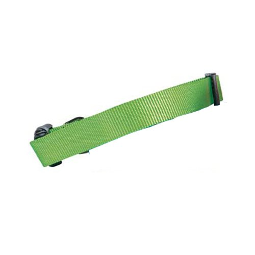 Guardian Gear Nylon Adjustable Dog Collar, 14-20-Inch, Electric Lime front-1004799