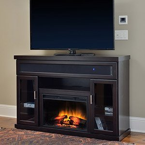 ClassicFlame Tenor Electric Fireplace Entertainment Center in Espresso - 26MMS9726-E451