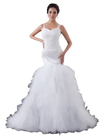 Herafa Wedding Dress Elegant NOw35482 At Amazon Womens Clothing Store