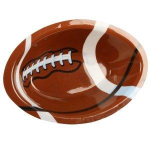 Football Shaped Plastic Bowl