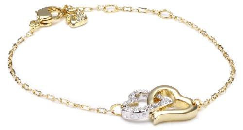 Swarovski Damen-Armband Love Vergoldet