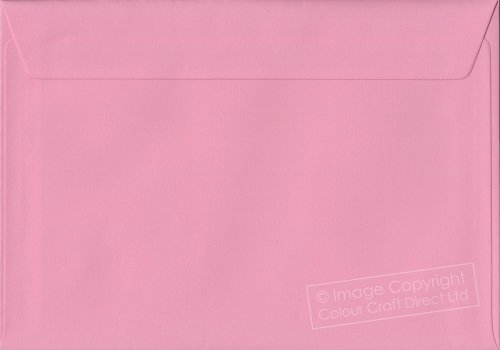 Premier Envelopes Pastel Pink C5 - 162 Mm X 229 Mm 100Gsm Peel And Seal Envelope (Pack Of 50)