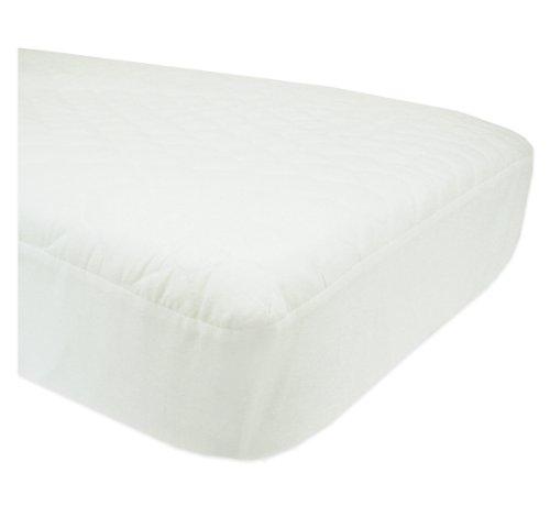 Imagen de Compañía American Baby Crib acolchado impermeable amueblada y cubierta de la almohadilla del colchón del niño