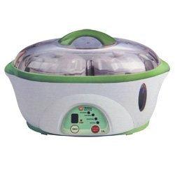 Welbon TSC-500B Electric Stewpot with Twin Mini Ceramic Pots & 1 Large Oval Ceramic Bowl