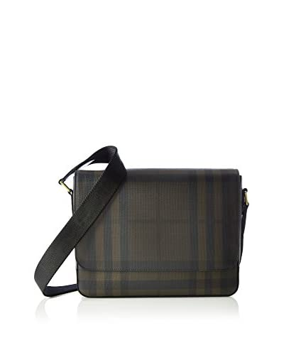 Burberry Bolsa messenger Edgware Elevated Marrón Oscuro / Negro