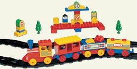 Peacock 2152-A Kinder Blocks Junior Train Set