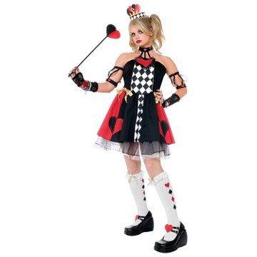 Alice (Queen Of Hearts Costume Kids Alice In Wonderland)