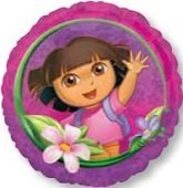 Anagram International HX Dora The Explorer Party Balloons, Multicolor