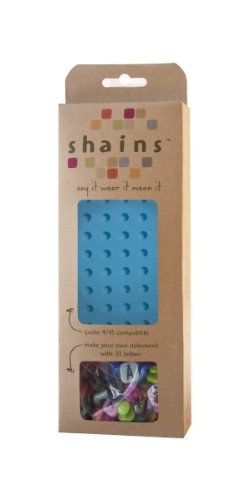 Shainsware iPhone Case With 33 Elements, Aqua - 1