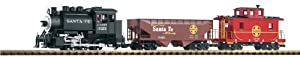 Piko G Scale Santa Fe Freight Starter Set - Piko G Scale Model Train Set 38104 by PIKO