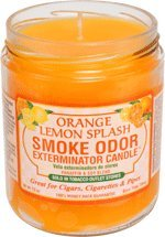 Best Cheap Deal for Smoke Odor Exterminator Candle Orange Lemon Splash 13 oz from Tobacco Outlet Products - Free 2 Day Shipping Available