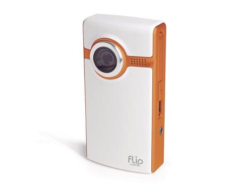 Flip Video Ultra Series Camcorder, 60 Minutes (Orange) OLD MODEL