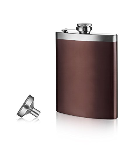 Vacu Vin–Fiaschetta e imbuto, colore: marrone