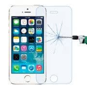 0.3mm / 2.5D Anti Blue-ray Explosion-proof Tempered Glass Film for iPhone 5S 5C 5