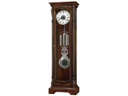 Wellington Grandfather Clock in Hampton Cherry
